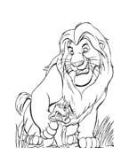 Il re leone da colorare 214