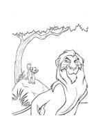 Il re leone da colorare 215