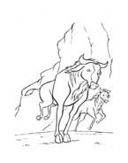 Il re leone da colorare 216
