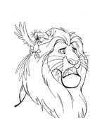 Il re leone da colorare 219