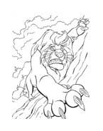 Il re leone da colorare 222