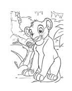 Il re leone da colorare 237