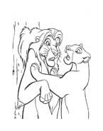 Il re leone da colorare 246