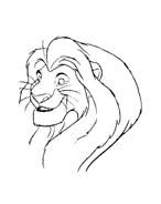Il re leone da colorare 253