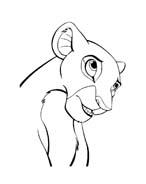 Il re leone da colorare 265