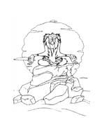 Il re leone da colorare 269