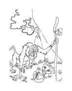 Il re leone da colorare 279