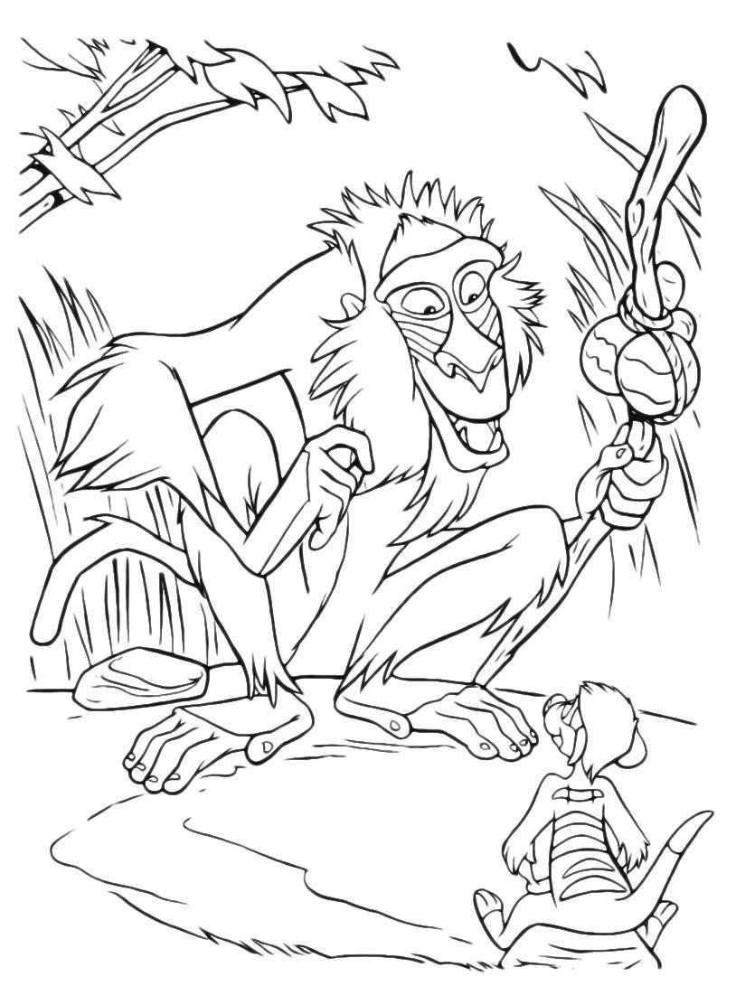 Il re leone da colorare 291