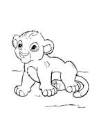 Il re leone da colorare 292