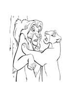 Il re leone da colorare 304