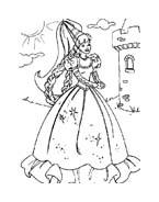 Principessa da colorare 42