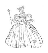 Principessa da colorare 43