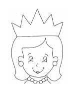 Principessa da colorare 48