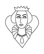 Principessa da colorare 50