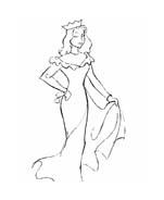 Principessa da colorare 51