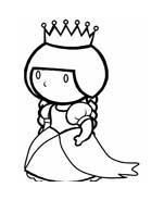 Principessa da colorare 58