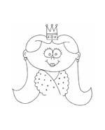 Principessa da colorare 59