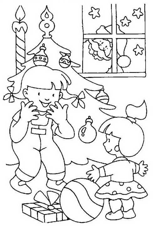 Natale 2 da colorare 418
