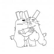 Rekkit Rabbit da colorare
