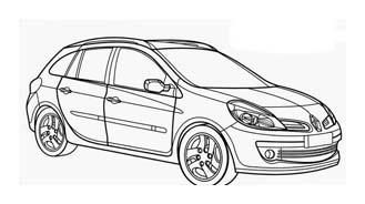 Automobile da colorare 387