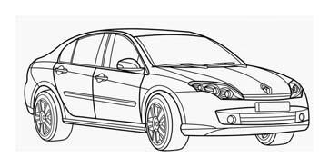 Automobile da colorare 391