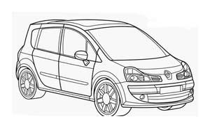 Automobile da colorare 393