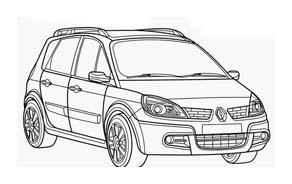 Automobile da colorare 394