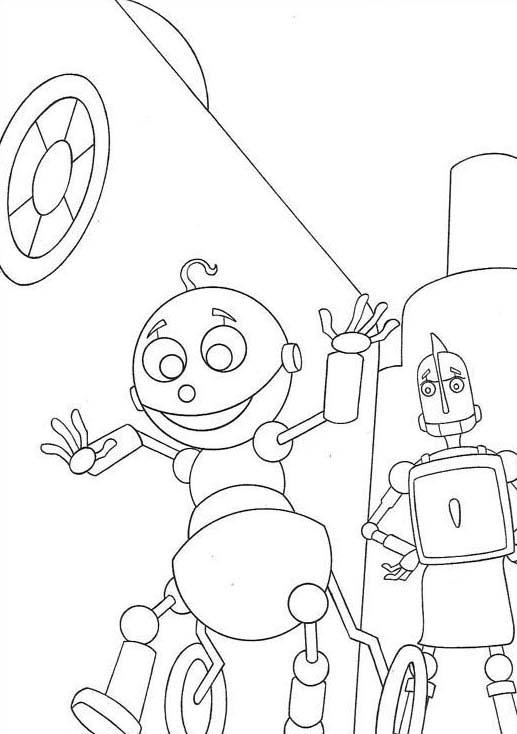 Robots da colorare 13