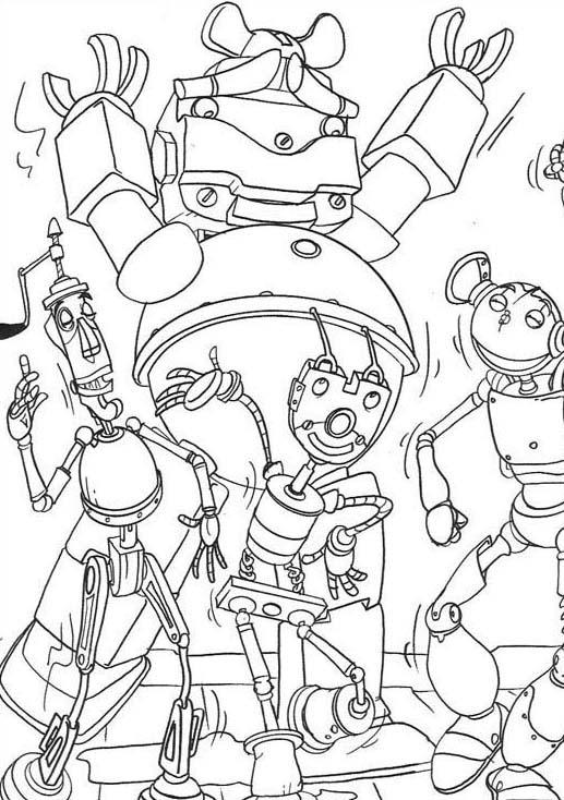 Robots da colorare 17