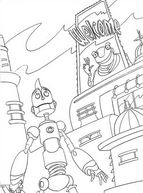 Robots da colorare 22