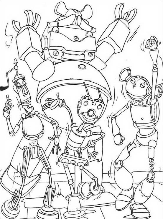 Robots da colorare 23