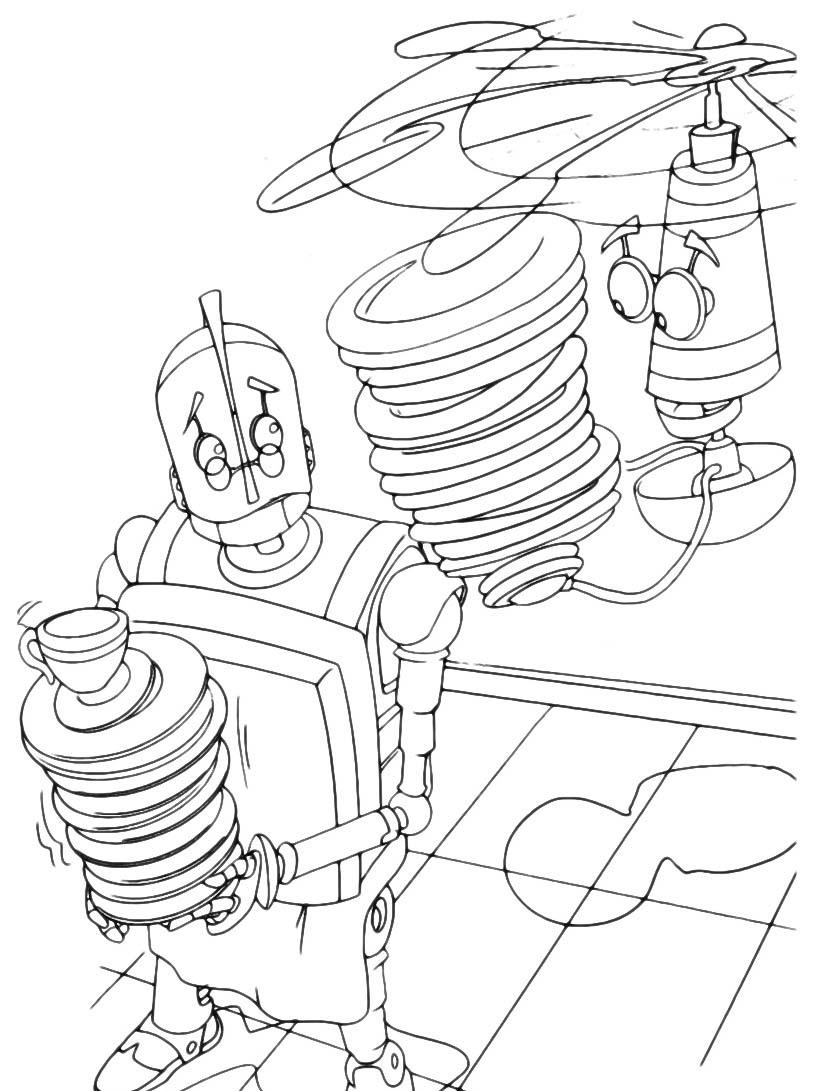 Robots da colorare 35