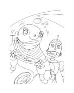 Robots da colorare 36