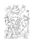 Robots da colorare 42