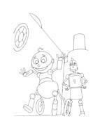 Robots da colorare 46