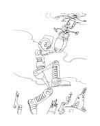 Robots da colorare 48