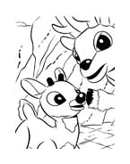 Rudolph da colorare 10