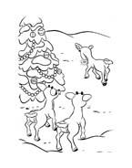 Rudolph da colorare 17