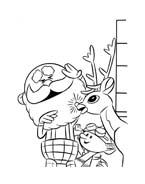 Rudolph da colorare 52