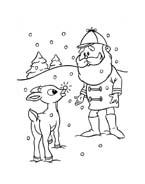 Rudolph da colorare 60