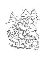 Rudolph da colorare 63