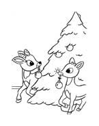 Rudolph da colorare 64