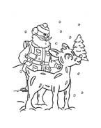 Rudolph da colorare 70