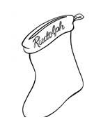 Rudolph da colorare 71