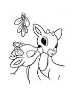 Rudolph da colorare 75