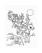 Rudolph da colorare 79