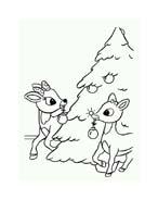 Rudolph da colorare 84
