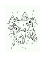 Rudolph da colorare 87
