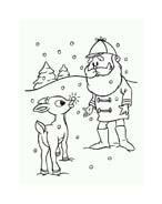 Rudolph da colorare 88