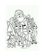 Rudolph da colorare 94